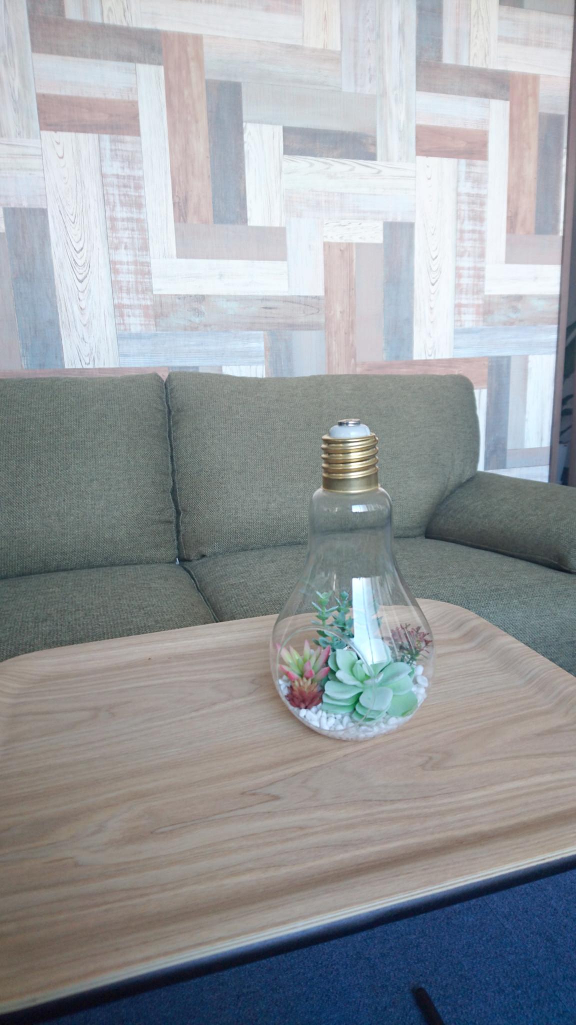 ひらめきを象徴する形である電球