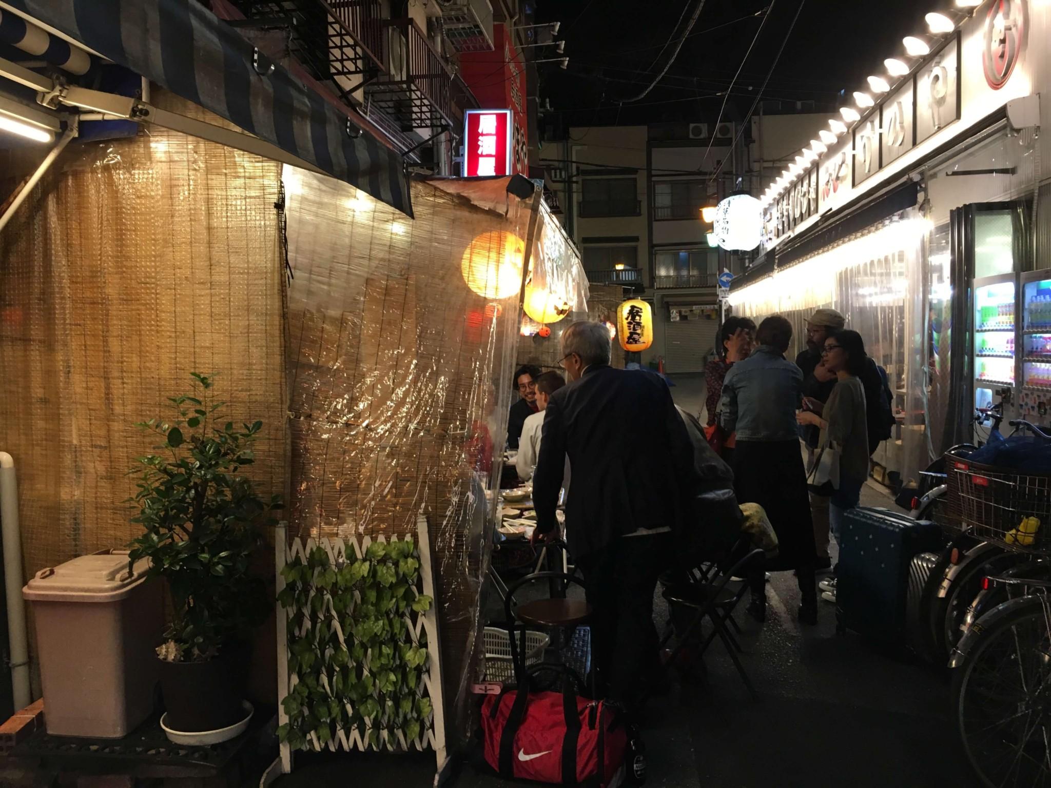 浅草の居酒屋