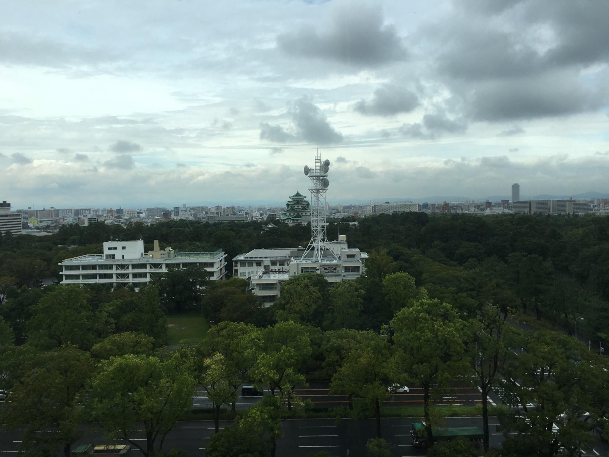 名城病院からの景色
